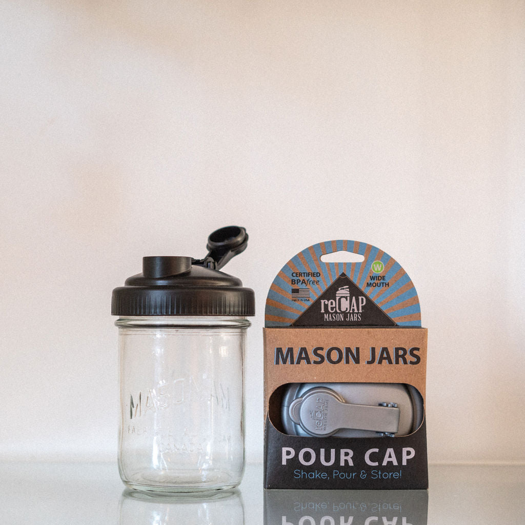 Mason Jar Cap (Wide Mouth)