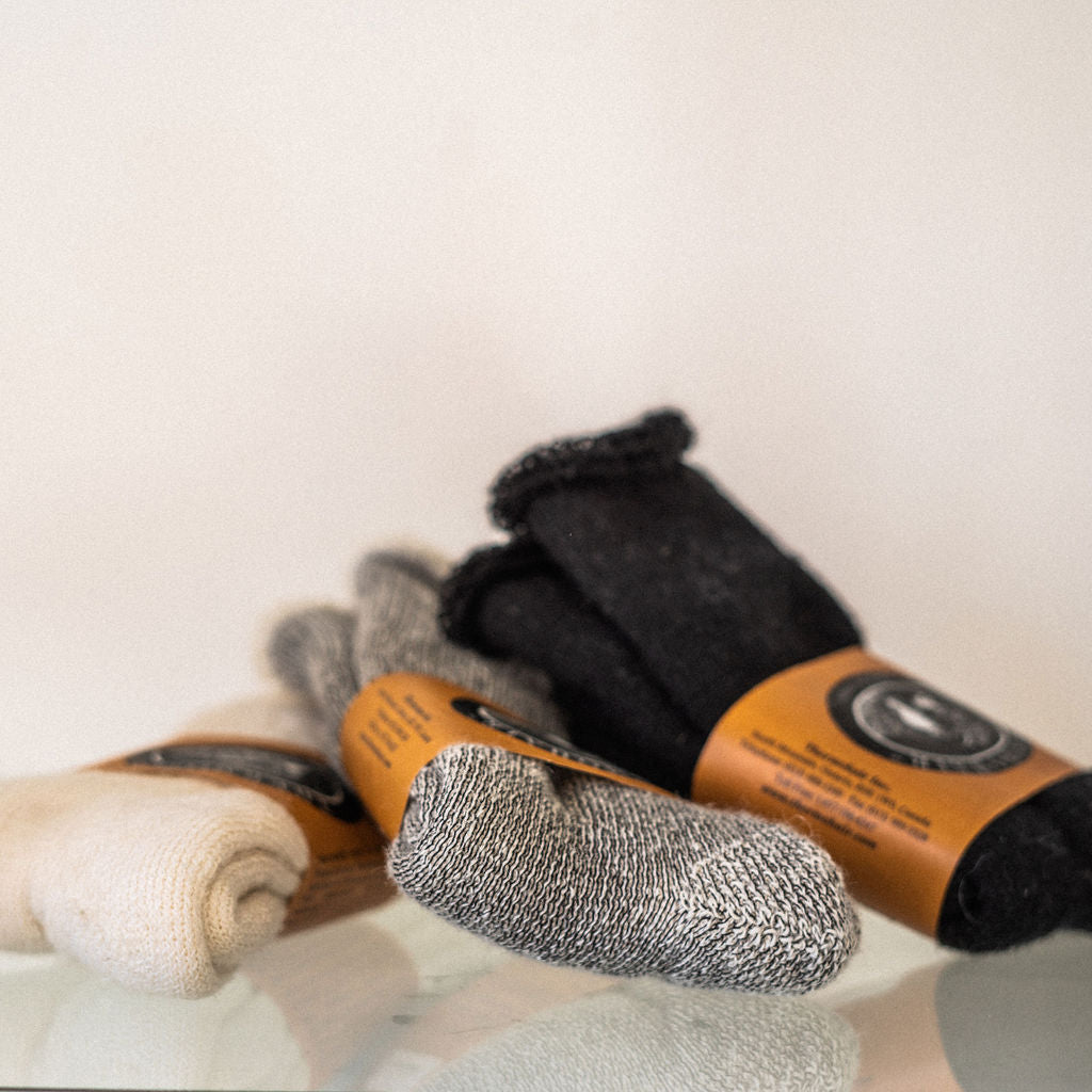 Women's Mohair Crew Socks - Thermohair