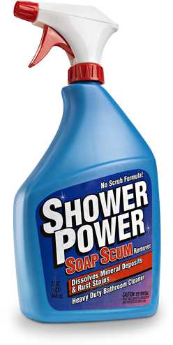 Shower Power Bathroom Cleaner & Soap Scum Remover