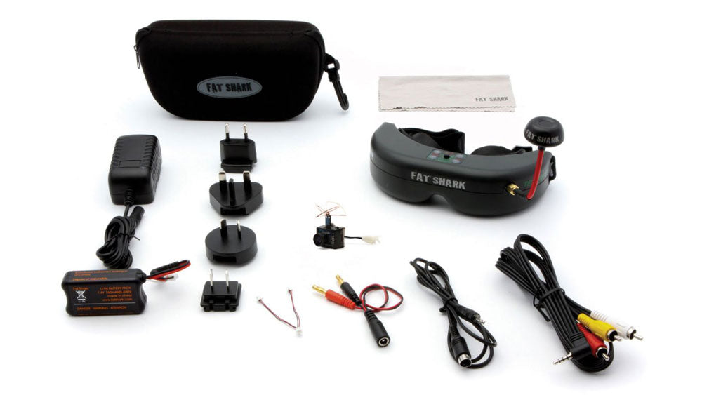 ULTRA MICRO FPV SYSTEM WITH HEADSET
