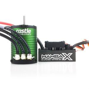 MAMBA X, 25.2V WP SENSORED ESC AND 1406-4600KV COMBO 14 series