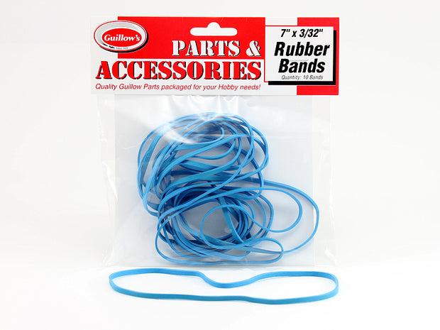 "7""x3/32"" Rubber Bands 10 ct."