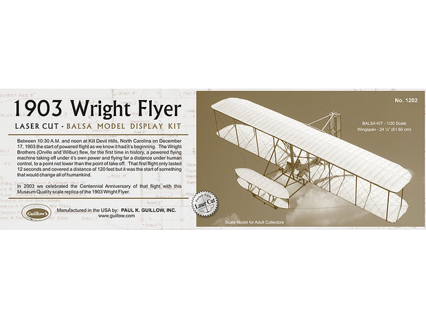 1903 Wright Flyer 1/20