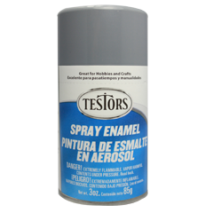 Testors 3oz Spray Enamel Gloss Grey
