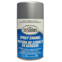 Testors 3oz Spray Enamel Chrome