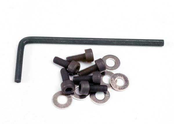 3x8 Hex Cap Screws (6) W/Washers and Wrench