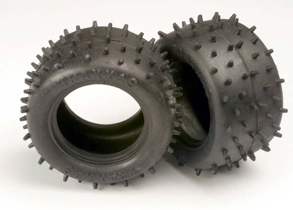 Tires, low-profile spiked 2.2' (2)