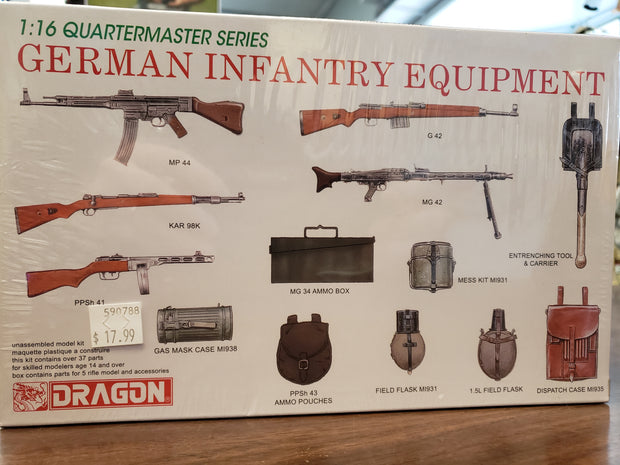 German Infantry Equipment