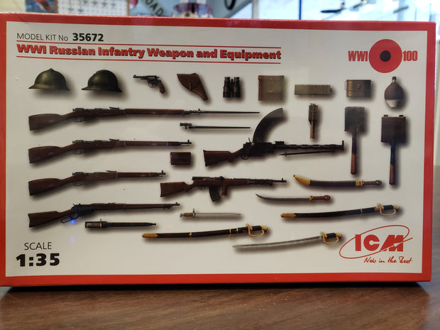 WW1 Russian Infatnry Weapons and Equipment