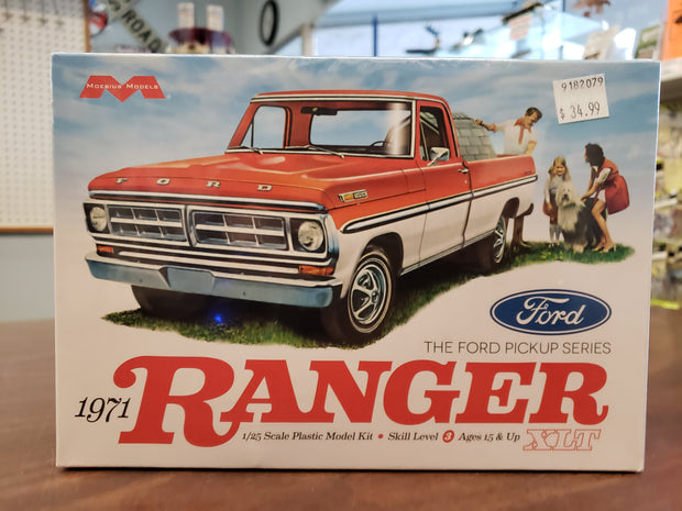 Models 1971 Ford Ranger XLT