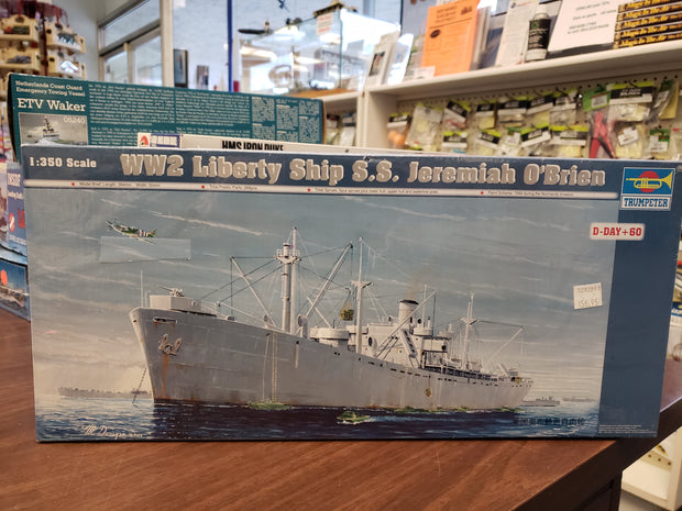 Liberty Ship SS Jeremiah O'Brien 1/350