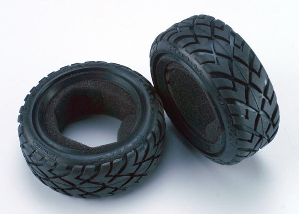 Tires, Anaconda® 2.2' (wide, front) (2)/foam inserts (Bandit) (soft compound)