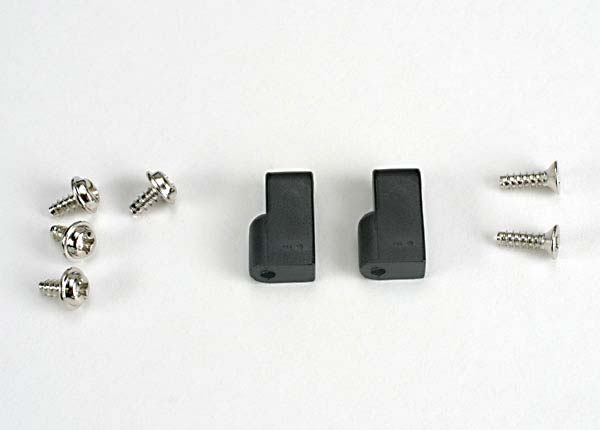 Servo mounts (2)/ screws (6)