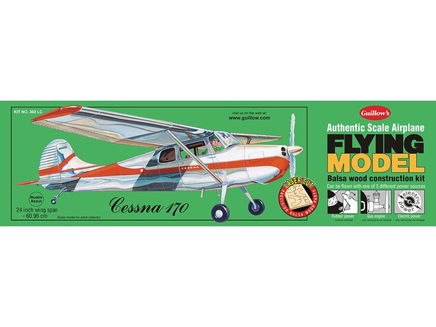 Flying Model Cessna 170. Kit