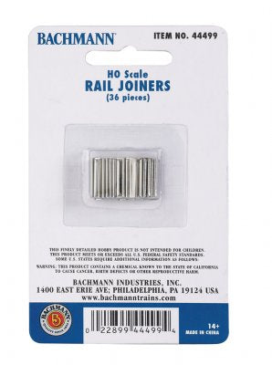 HO Scale Rail Joiners (36pc)