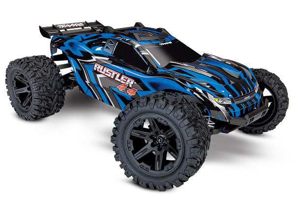 Rustler® 4X4: 1/10-scale 4WD StadiumTruck. Ready-To-Race®