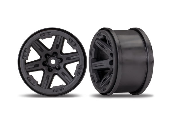 Wheels, RXT 2.8' (black) (2)