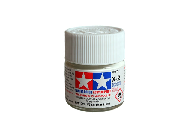 Tamiya Acrylic Paint 1/3oz. White