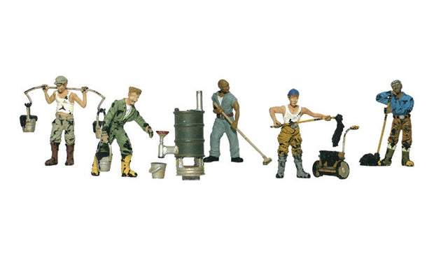 Roofers HO Scale
