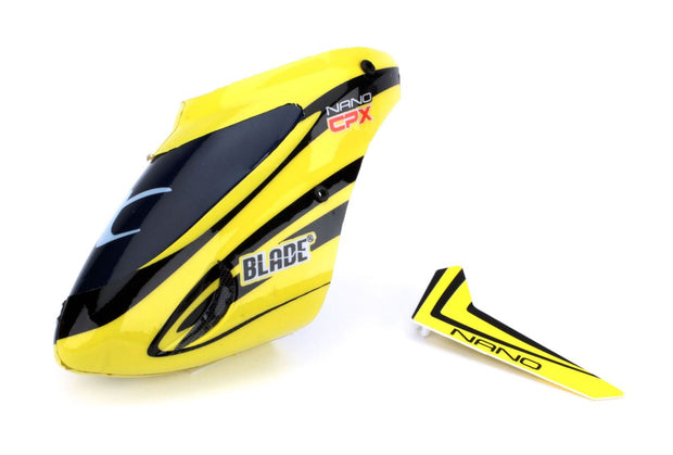 Complete Yellow Canopy with Vertical Fin: Nano CP X