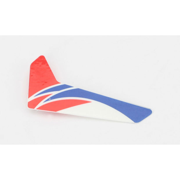 Red Vertical Fin with Decal: mCP X