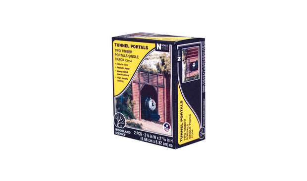 Timber Single Portal - N Scale