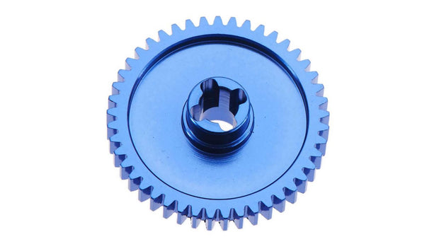 Spur Gear 45T Alum Blue BX MT SC 4.18