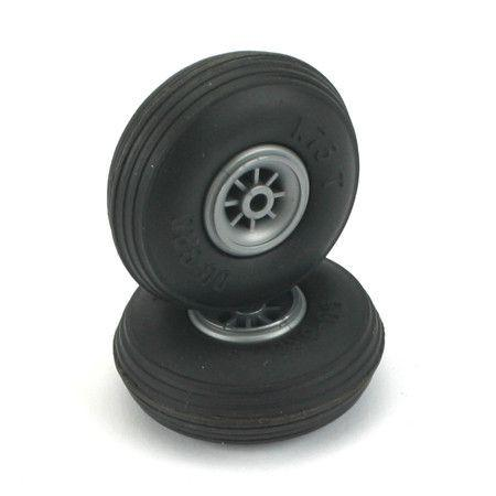 "3-1/2"" Low Bounce Treaded Wheels"