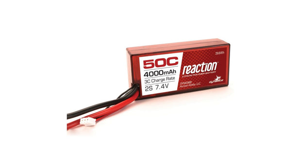 Reaction Lipo 2S 7.4v 4000mAh