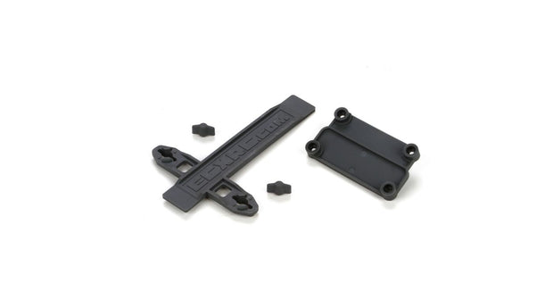 Battery Strap ESC Plate 1:10 2wd Ruckus, Torment