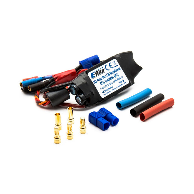 30-Amp Pro Switch-Mode BEC Brushless ESC, Coated, V2