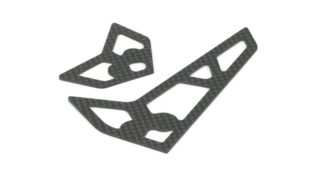 STABILIZER/FIN SET, CARBON FIBER B400