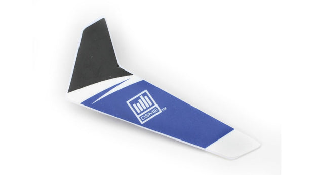 VERTICAL FIN, BLUE BMSR