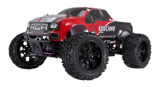 Volcano EPX Monster Truck Red