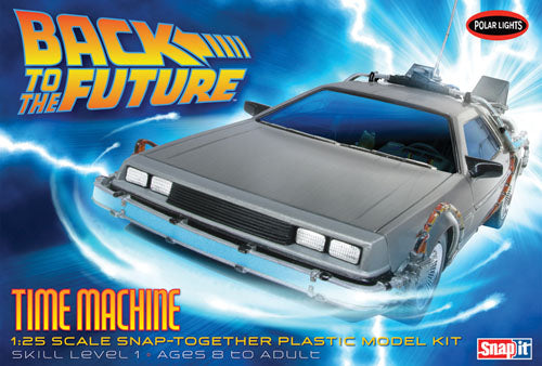 Back to the Future Time Machine Snap It