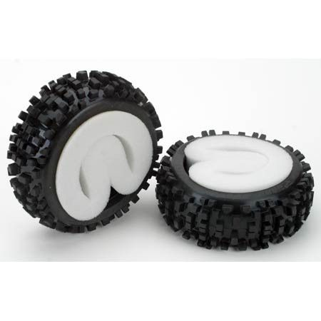 Badlands XTR All Terrain 1:8 Buggy Tires Front/Rear Wheels