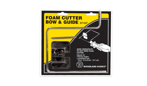 Foam Cutting Attachment:  Bow & Guide