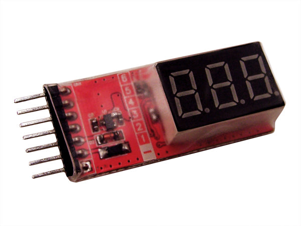 Cell Spy Voltage Tester  Lipo