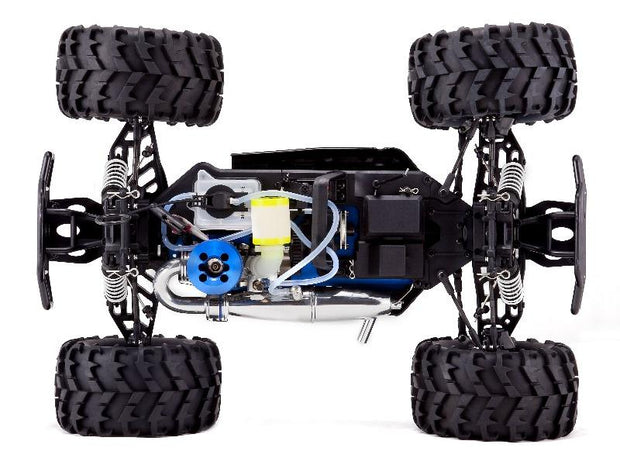 Earthquake 3.5 1/8 Scale Nitro RC Monster Truck (Red)
