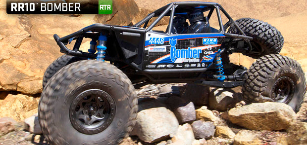 RR10 Bomber 1/10th Scale Electric 4WD - RTR