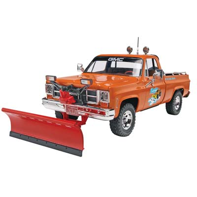 GMC Pickup with Snow Plow.