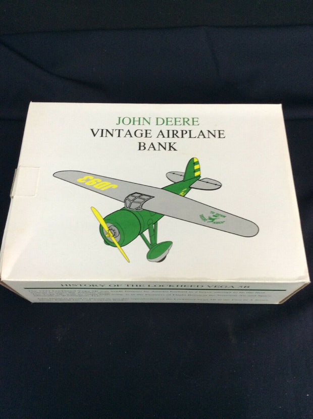 John Deer Vintage Airplane (Piggy Bank)