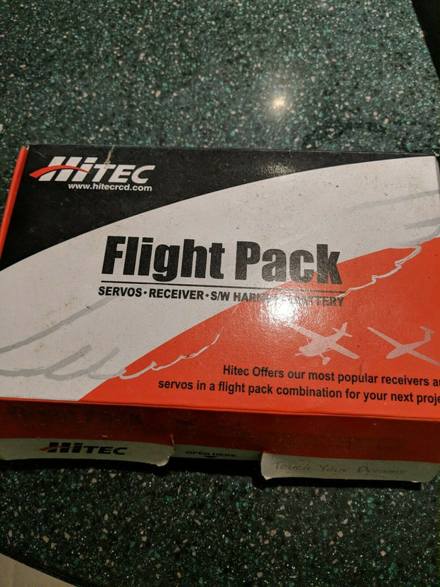 Feather Flight Pack Receiver Servo Switch Harness zot