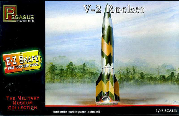 Pegasus V-2 Rocket Snap 1/48