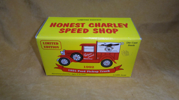 Honest Charlie 1931 Ford Pickup (Piggy Bank)