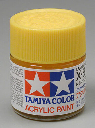 Acrylic Paint 23ml Lemon Yellow X8