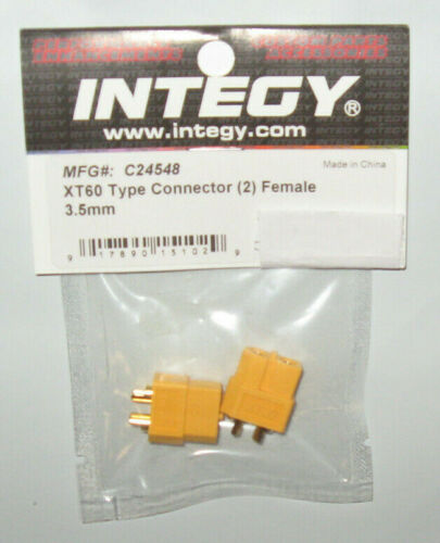 XT60 Type Conn. (2) Female 3.5mm