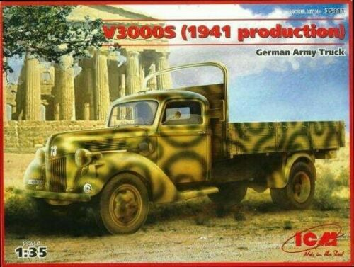 1/35 V3000S (1941 production) German Army Truck