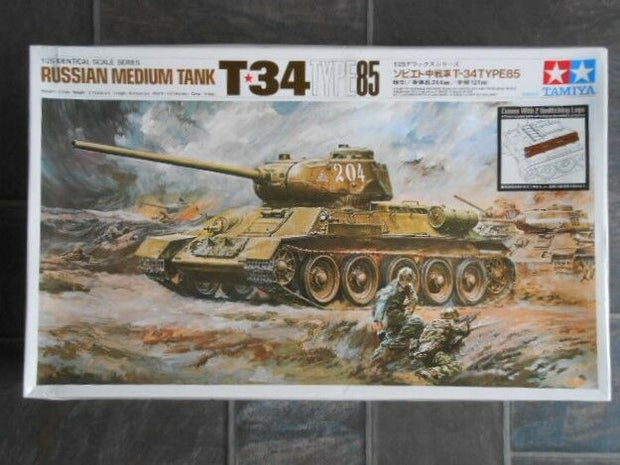 (Bad Box) Russian Med. Tank T-34  1/25