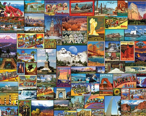 Best Places In America 1000pc Puzzle